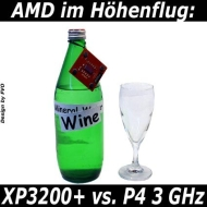 AMD Athlon XP 3200 Plus (MF80459) PC System