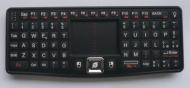 Rii RT-MWK03 Wireless Bluetooth Mini Keyboard & Mouse Combo with Touchpad (Black)
