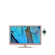 Sharp LC-24DHF4011KR, 24 inch, HD Ready, Freeview HD, TV with DVD Player - Rose Gold