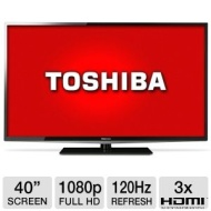 "Toshiba 40"" LED 1080p HDTV 120Hz (40L5200U)"