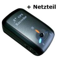 i-Blue 747A+ Bluetooth GPS Trip Recorder (Datenlogger mit Bluetooth und USB Receiver Funktion), Geotagger Photo Tagger mit 110-240V Ladenetzteil und K