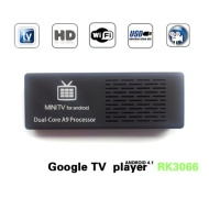 MK808 Dual Core Android 4.1 TV BOX Rockchip RK3066 Cortex-A9 Mini PC Smart TV Stick
