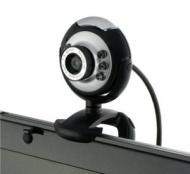 USB 30.0M 6 LED Webcam Camera Web Cam With Mic for Desktop PC Laptop