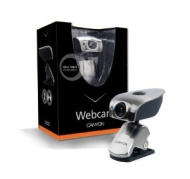 Canyon Webcam,300k,Stainless Steel Silver Usb