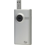 Flip Video - MinoHD Video Camera (Silver, 1 Hour)