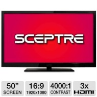 Sceptre X508BV-FHD: 50 LCD Class 1080P HDTV 3 x HDMI, 10Watt x 2, 1920 x 1080 Resolution