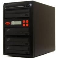 Systor 1-7 SATA CD DVD Duplicator 20X LightScribe Burner with USB Connection (£40 value)