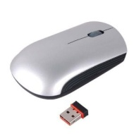 Neewer Silver 2.4G Wireless USB Optical Mouse + Mini Receiver