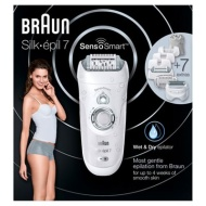 "Braun - Silk-Épil 7' SensoSmartâ""¢ wet and dry cordless epilator - 7/880"