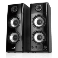 Genius SP-HF1800A 3 Way Wood Hi-Fi Speakers