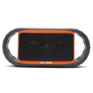 Grace Digital ECOXGEAR ECOXBT Rugged and Waterproof Wireless Bluetooth Speaker (Orange)