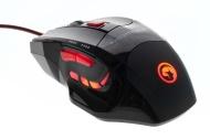 Itek ITM915G1 Scorpion Buthus Mouse a 7 Tasti Fino a 1600 DPI e Mouse Pad G1, Nero
