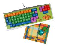 Crayola 11103  Keyboard, Mouse and Mouse Pad Bundle