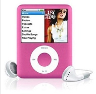 """LIGHTAHEAD® 3RD GEN 1.8 """" LCD MP3 MP4 PLAYER WITH BUILT-IN 8GB FLASH MEMORY FM RADIO VIDEO PLAYER AVAILABLE IN DIFFERENT COLORS (PINK)"""