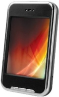 """sylvania 4gb 2.8"""" touch screen video mp3 player w/ built in camera camcorder n"""