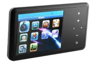 Mobiblu A30 2.4-Inch TFT 4GB MP4 Player with Touch Pad