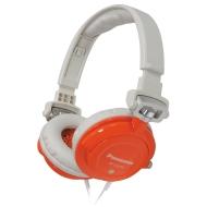 Panasonic RP-DJS400AED Stylish Street Headphones with Swivel Mechanism - Orange