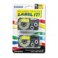 Casio Inc. XR18YW2S Tape Cassette for Label Printer