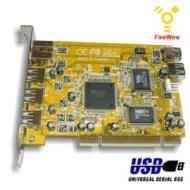 USB 2.0 vers IEEE 1394 4-Pin Câble FireWire 1394 -1,8M connecteur caméra
