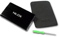 Nilox Dh0002er-i Box Esterno Hd Ide 2.5'', Colore: Nero