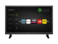 SEIKI HD Ready 28-Inch Smart LED TV with Built-in Wi-Fi and Freeview HD