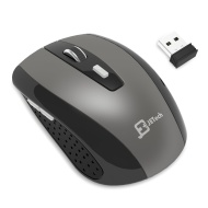 Wireless Mouse, JETech M0770 2.4Ghz Wireless Mobile Optcal Mouse with 6 Buttons, 3 DPI Levels, USB Wireless Receiver
