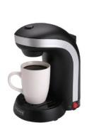 Kitchen Selectives CM-688 1-Cup Single Serve Drip Coffee Maker, Black