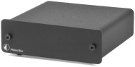 Pro-Ject Phono Box II Preamplificatore(testina MC-/MM, prese RCA dorate), colore: Nero