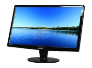 "Hanns-G HZ251HPB Black 24.6"" 2ms (GTG) HDMI Widescreen LCD Monitor w/ Speakers  300 cd/m2 X-Contrast 15,000:1 (800:1 typical)"