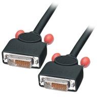 LINDY 2m DVI-D Cable Dual Link Black