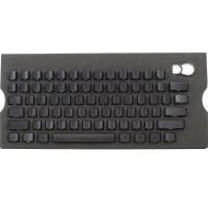 Max Keyboard Universal Cherry MX Translucent Clear Black Full Keycap Set (Front Side Print)