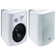 TIC PYLPLTTB1 Architectural Series 120-Watt Exterior Patio Speakers - White