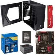 Intel® Core i7-4790 Processor and ASUS MAXIMUS VII HERO ATX