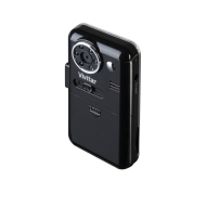 Vivitar DVR-510 - Camcorder with digital player / voice recorder - 5.0 Mpix - supported memory: SD - flash card
