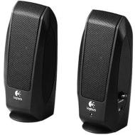 Logitech Inc Speaker System w/ headphone Jack Black