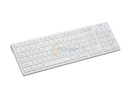 I-Rocks White 103 Normal Keys USB Wired Slim Keyboard