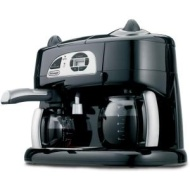DeLonghi BCO130T Combination Coffee/Espresso Machine
