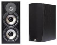Polk Audio Monitor 45B 2-Way Bookshelf Speakers (Pair, Black)