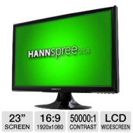 "Hannspree Hanns.G HF235DPB 23"" Schwarz Full HD PC Flachbildschirm"