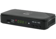OPTICUM RED HD AX 150 HD DVB-S2 Receiver (HDTV, DVB-S, DVB-S2, Schwarz)