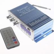 USB SD DVD MP3 FM Car Motorcycl Amplifier 20W+20W Remote Control Digital Display
