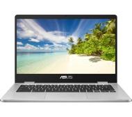 "ASUS C423NA Touch 14"" Intel® Celeron™ Chromebook - 32 GB eMMC, Silver"