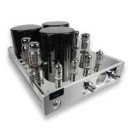 YAQIN NEW MC-13S EL34(6CA7)X4 Vacuum Tube Hi-end Tube Integrated Amplifier Push-Pull Silver