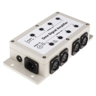 1 Input 8 Ouput DMX512 Signal Amplifier Separator With Isolated Output