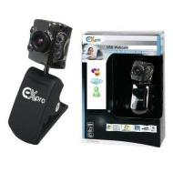 Ex-Pro Skype Compatible - Super Laptop/Desktop CLIP on Video Webcam 300K 1.3M Pixel - Super Cam, Glass Lense, 6 LED Lights - Web Camera Cam - 100% com