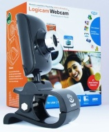 Logicam Webcam, Plug & Play webcam, no drive or installation needed, Windows Compatible, Excellent video quality and ideal for Skype/Yahoo/Live video
