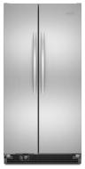 KitchenAid Architect Series II Monochromatic Stainless Steel Side-By-Side Refrigerator - KSCS25MVMS