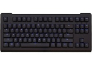 Max Keyboard Blackbird Tenkeyless (TKL) Blue Backlit Mechanical Keyboard (Blue Cherry MX)