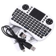 Mini Tastiera USB Wireless 2,4G per Android TV Box PS3 Pad