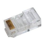 Shaxon L726SM803WT-6FB RJ45 to RJ45 Shielded Category 6 Patch Cord - White, 3 Feet